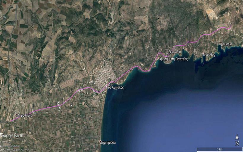 Προχωρά  με γρήγορο ρυθμό από την Περιφέρεια Θεσσαλίας  η μελέτη Μικροθήβες - Μπουρμπουλήθρα