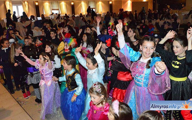 Ξέφρενο αποκριάτικο Party σχολείων του Αλμυρού (φωτογραφίες)