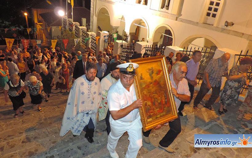Με λαμπρότητα η εορτή της Μεταμορφώσεως του Κυρίου στην Αμαλιάπολη (φωτο)