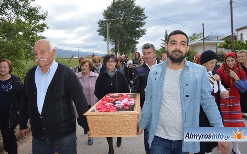 Τη μνήμη του Αγίου Μεγαλομάρτυρος Εφραίμ τίμησε η Ευξεινούπολη (φωτο)