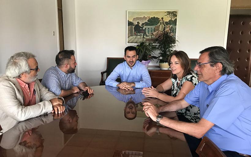 Σύσκεψη των βουλευτών Μαγνησίας του ΣΥΡΙΖΑ για την προμήθεια στεφανιογράφου στο Αχιλλοπούλειο