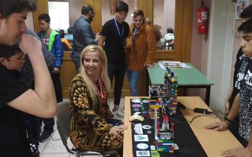 Στο Μαθητικό Φεστιβάλ Ψηφιακής Δημιουργίας η Δωροθέα Κολυνδρίνη