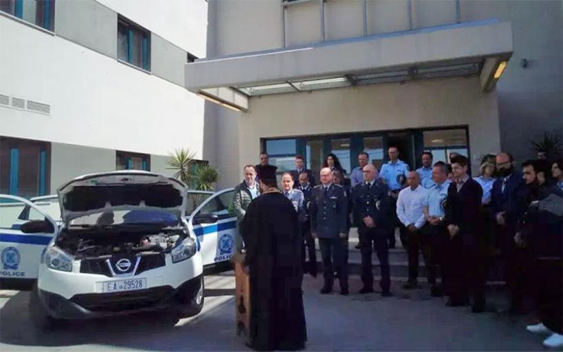 Δώρισαν αυτοκίνητο στην Αστυνομία για τις ανάγκες του Α.Τ. Αλμυρού