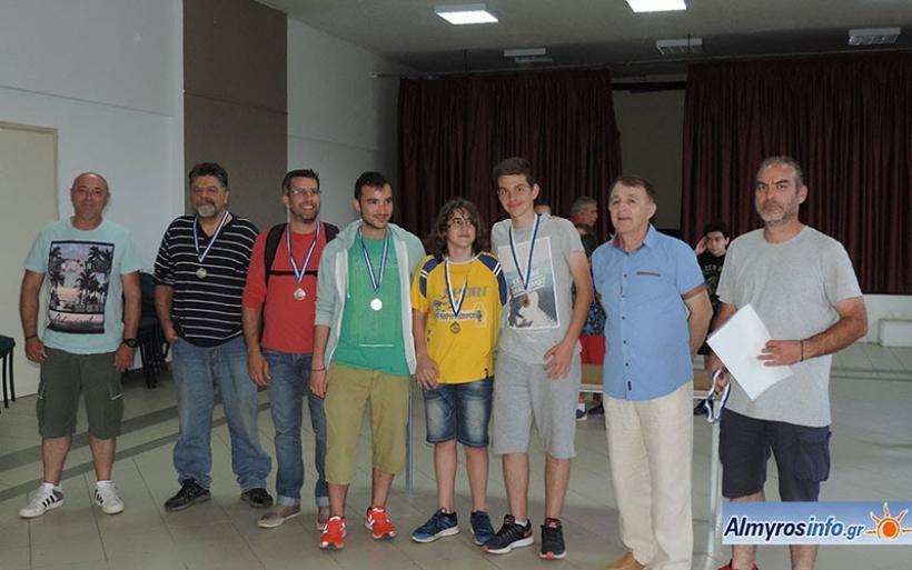 Με επιτυχία το 3ο Ανοιχτό Ατομικό Τουρνουά Σκακιού στην Ευξεινούπολη (βίντεο&φωτο)
