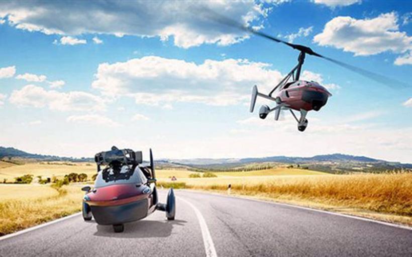 To πρώτο «ιπτάμενο» αυτοκίνητο αποτελεί γεγονός - Θα κοστίζει 300.000 ευρώ