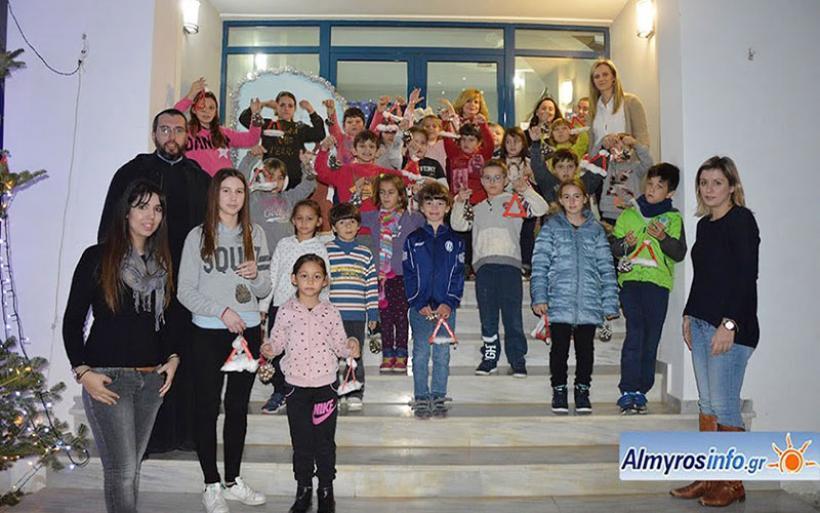 Συνεχίζονται οι Χριστουγεννιάτικες εκδηλώσεις του Δήμου Αλμυρού (φωτο)