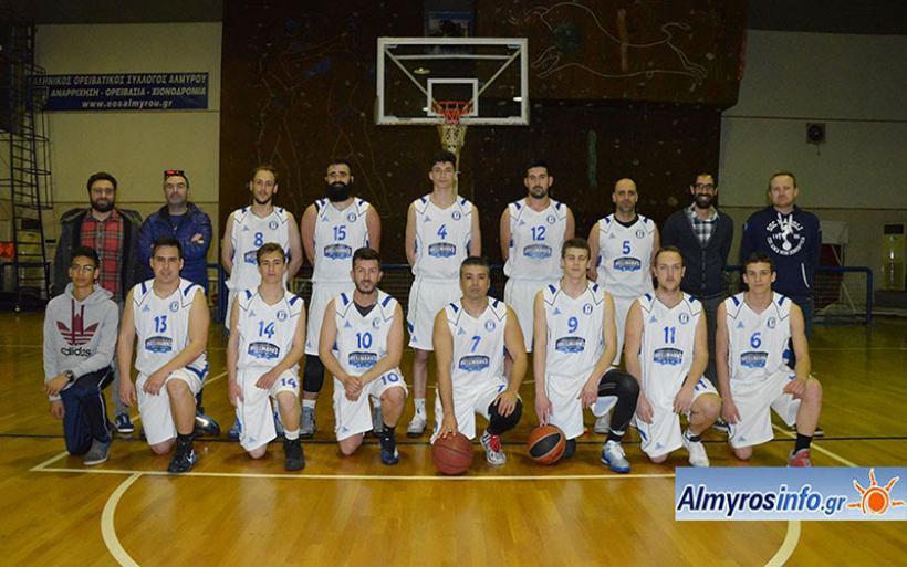Νικηφόρα έκλεισε η χρονιά για την ομάδα μπάσκετ του Γ.Σ. Αλμυρού (φωτο)