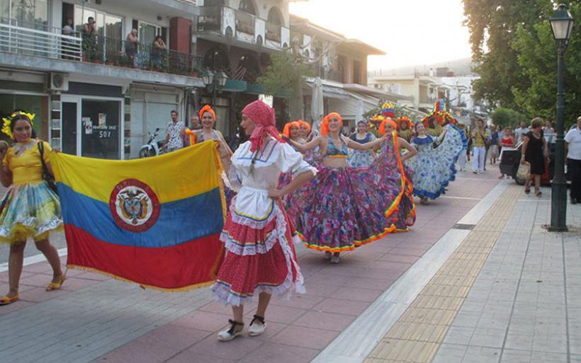 Φωτογραφίες και βίντεο από το 5ο Διεθνές Φεσιβάλ Παραδοσιακών χορών Νέας Αγχιάλου