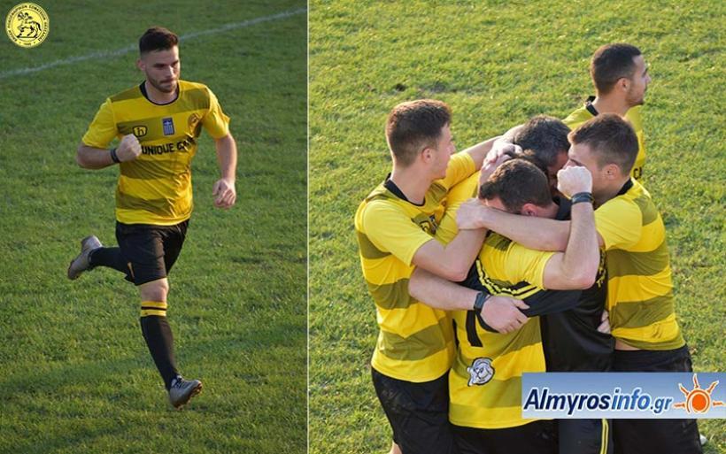 Μεγάλη πρόκριση για τον Αίαντα 1-0 την Ακρόπολη (φωτογραφίες)