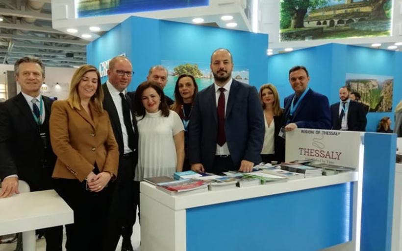Συμμετοχή της Περιφέρειας Θεσσαλίας στη Διεθνή Τουριστική Έκθεση «ITB BERLIN 2019»