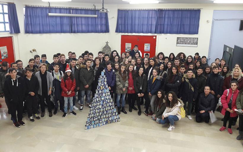 Επίσκεψη αγάπης του Γυμνασίου Ευξεινούπολης στο Ίδρυμα Άσπρες Πεταλούδες