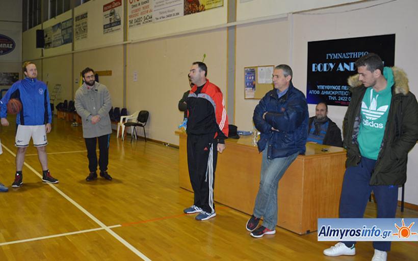 Ο Γιάννης Στεργιόπουλος στο τιμόνι της ομάδας μπάσκετ του Γ.Σ. Αλμυρού (βίντεο&φωτο)
