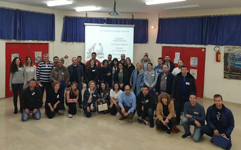 Με επιτυχία το Σεμινάριο βασικής υποστήριξης της ζωής στο Δήμο Αλμυρού