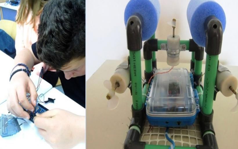 Μαθητικό ρομπότ από το Γυμνάσιο Πτελεού ερευνά τον Παγασητικό