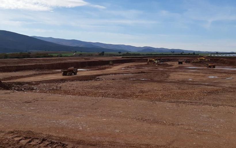 Με γρήγορους ρυθμούς προχωρά η κατασκευή της λιμνοδεξαμενής Ξηριά στον Αλμυρό (φωτο)