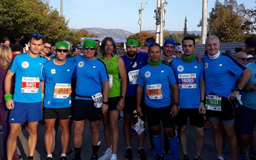 36ος Αυθεντικός Μαραθώνιος Αθήνας:  Ε.Ο.Σ. Αλμυρού Marathon Team – Οι Αλμυριώτες ήταν εκεί!
