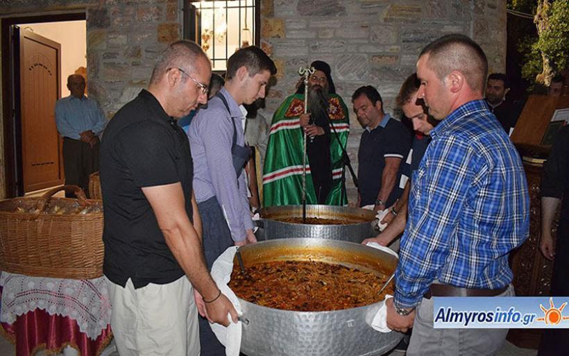 Ο εορτασμός του Αγίου Παντελεήμονα στο Μετόχι της Ι.Μ. Άνω Ξενιάς στον Πτελεό (βίντεο&φωτο)