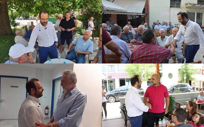 Κ. Μαραβέγιας: «Ο Δήμος Αλμυρού από τις πιο δυναμικές περιοχές της Μαγνησίας»
