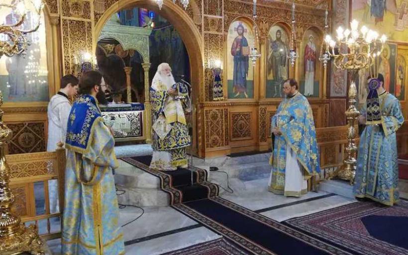 Δημητριάδος & Αλμυρού Ιγνάτιος: «Θα δώσουμε μαζί τον αγώνα και θα νικήσουμε» – Γιορτάστηκε ο Ευαγγελισμός της Θεοτόκου