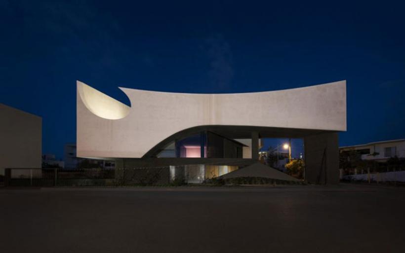 Ηράκλειο: Αυτό είναι το φανταστικό σπίτι που διεκδικεί βραβείο σύγχρονης αρχιτεκτονικής