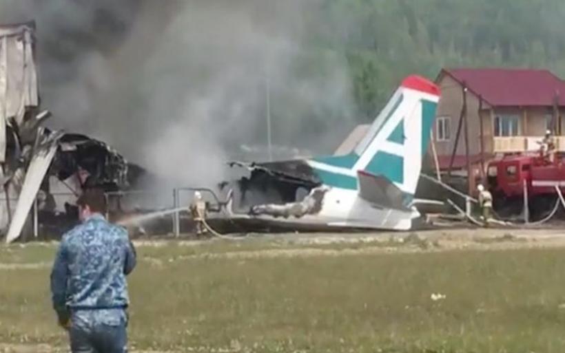 Ρωσία: Τραγωδία με δύο νεκρούς και 19 τραυματίες έπειτα από αναγκαστική προσγείωση