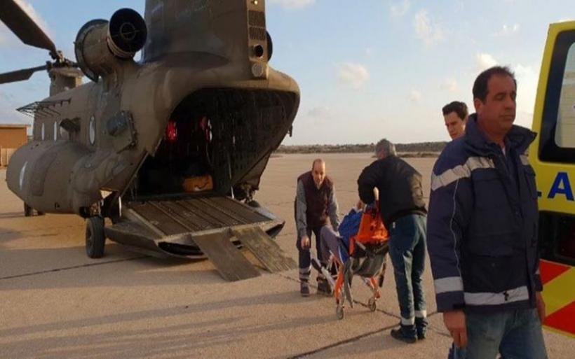 Είκοσι αεροδιακομιδές με ελικόπτερα της 1ης Ταξιαρχίας Αεροπορίας Στρατού