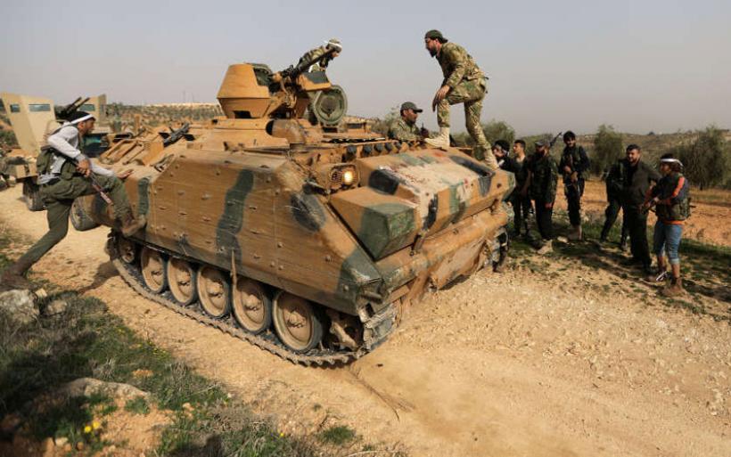Ο τουρκικός στρατός πολιορκεί το Αφρίν: Έχει περικυκλώσει την πόλη