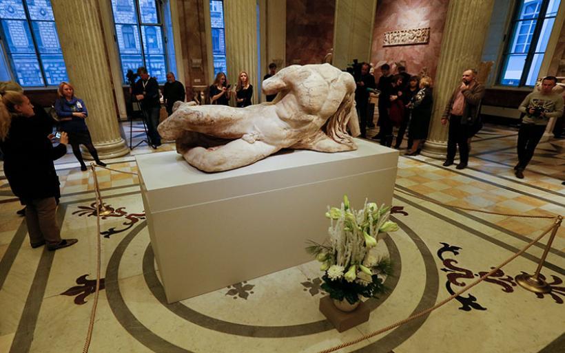 Κι όμως, το Βρετανικό Μουσείο έχει δανείσει γλυπτά του Παρθενώνα -Στο Ερμιτάζ, το 2014