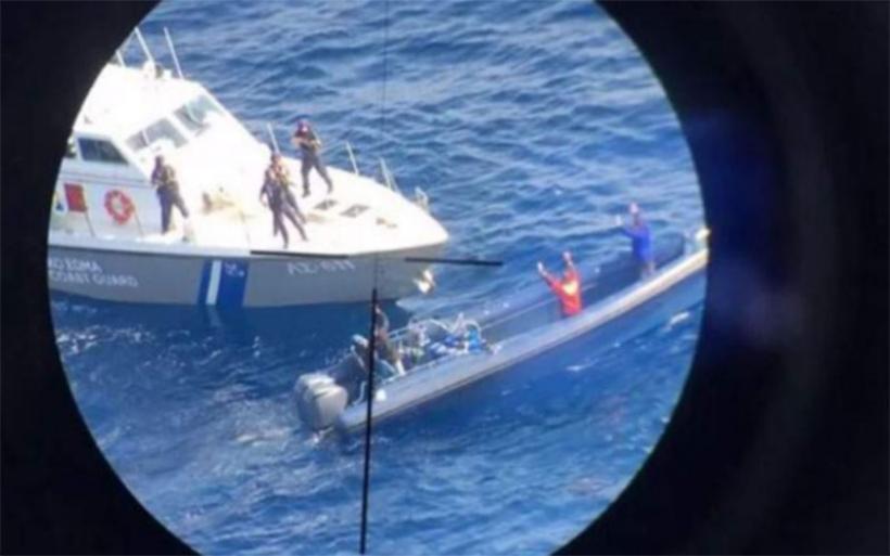 Με πλωτό σκάφος ήλθαν στο Βόλο τα ναρκωτικά του ενός τόνου από την Αλόννησο