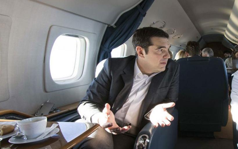 Mικρή περιπέτεια στον αέρα για τον Αλέξη Τσίπρα - Προσγειώθηκε στη Ν. Αγχίαλο
