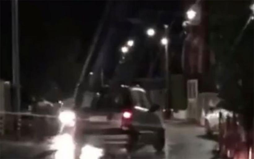 Τρελή πορεία ΙΧ στην Κηφισιά - Μεθυσμένος οδηγός πήγαινε ανάποδα, έπεφτε σε μάντρες και κάδους