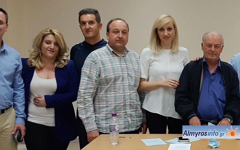 Ευχαριστήριο μήνυμα του νέου Προέδρου της ΔΗΜ.Τ.Ο  ΝΔ  Αλμυρού κ. Δημητρίου Αναστασίου