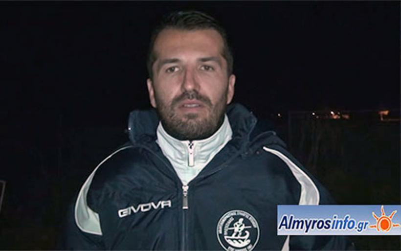 Στη Δήμητρα Ευξεινούπολης ο Μιχ. Ανδρωνάς με στόχο την άνοδο