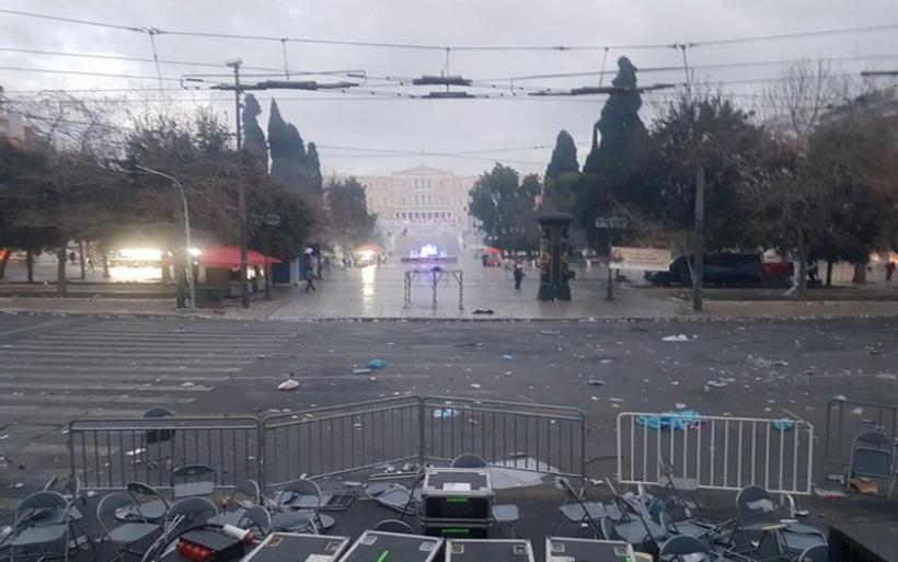 Το χρονικό των φασιστικών επιθέσεων στο συλλαλητήριο για το Μακεδονικό
