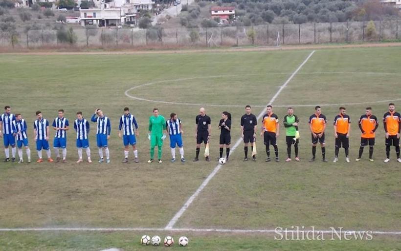 Στιγμιότυπα και δηλώσεις προπονητών του αγώνα Στυλίδα-Αλμυρός 0-1 (βίντεο)