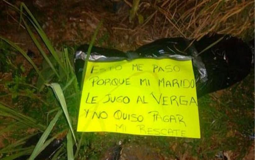 Οι απαγωγείς πέταξαν το κομμένο της κεφάλι με το σημείωμα «αυτό συνέβη επειδή ο άνδρας μου δεν πλήρωσε τα λύτρα»!