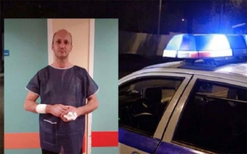 Λαρισαίος αστυνομικός εκτός υπηρεσία δέχτηκε μαχαιριές αλλά έσωσε μια οικογένεια από το δράμα