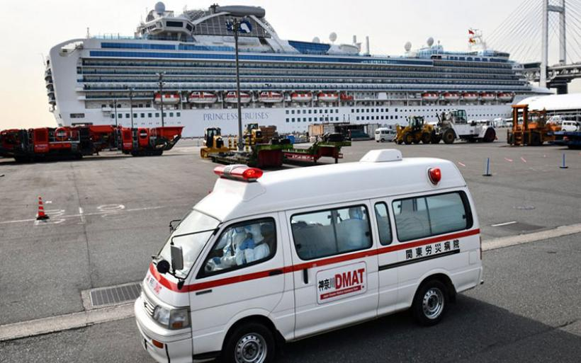 Κορωνοϊός: 73 νεκροί σε μια ημέρα στην Κίνα - Τρόμος στο Diamond Princess στην Ιαπωνία