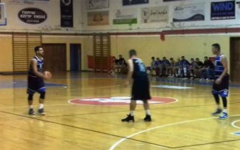 Νικηφόρα ξεκίνησε η αντρική ομάδα μπάσκετ του Γ.Σ.Αλμυρού