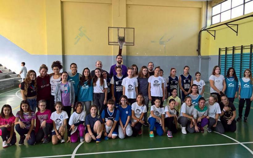Ευχαριστήριο του τμήματος ακαδημιών μπάσκετ κορασίδων του Γ.Σ Αλμυρού για την χορηγία του αθλητικού υλικού
