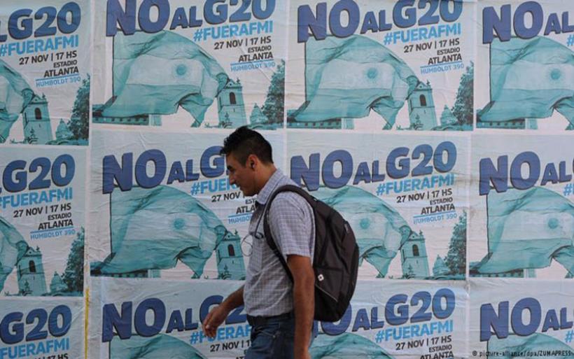 «Αστακός» το Μπουένος Άιρες εν όψει G20