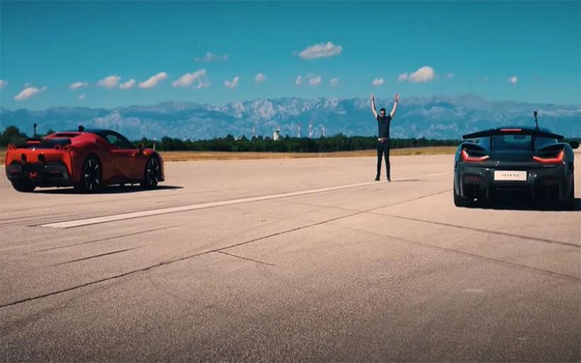 Ηλεκτρικό ξεφτιλίζει την Ferrari SF90 Stradale