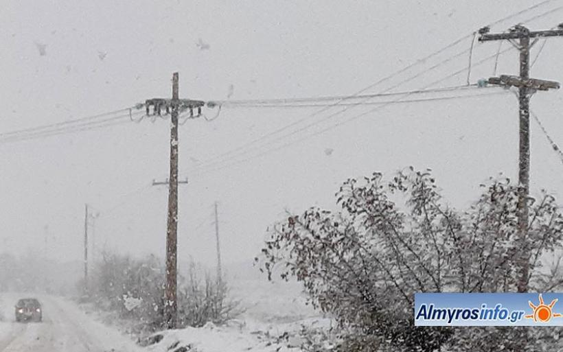 Χωριά του Δ. Αλμυρού έμειναν χωρίς ρεύμα - Αποκαταστάθηκαν οι ζημιές