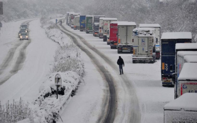 Προσωρινή απαγόρευση κυκλοφορίας φορτηγών στο τμήμα της ΠΑΘΕ στη Μαγνησία