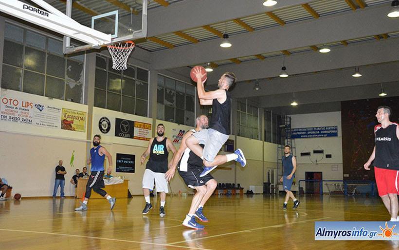 Τουρνουά μπάσκετ 3on3 διοργάνωσε η Δήμητρα στο Κλειστό Αλμυρού (φωτο)