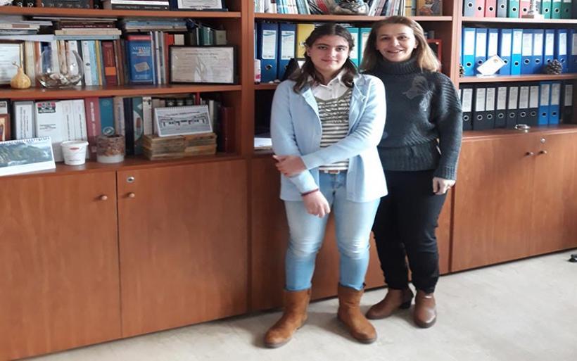 Νέα διάκριση μαθήτριας του Γυμνασίου Ευξεινούπολης