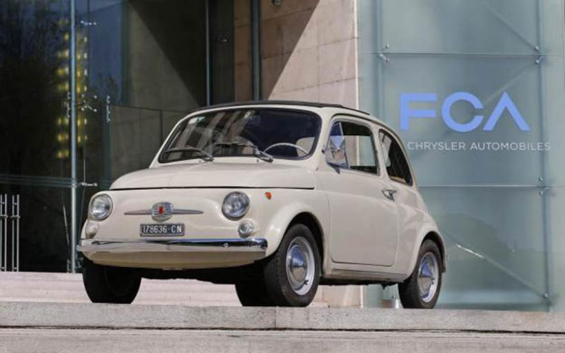 To Fiat 500 στο Μουσείο Μοντέρνας Τέχνης της Ν. Υόρκης