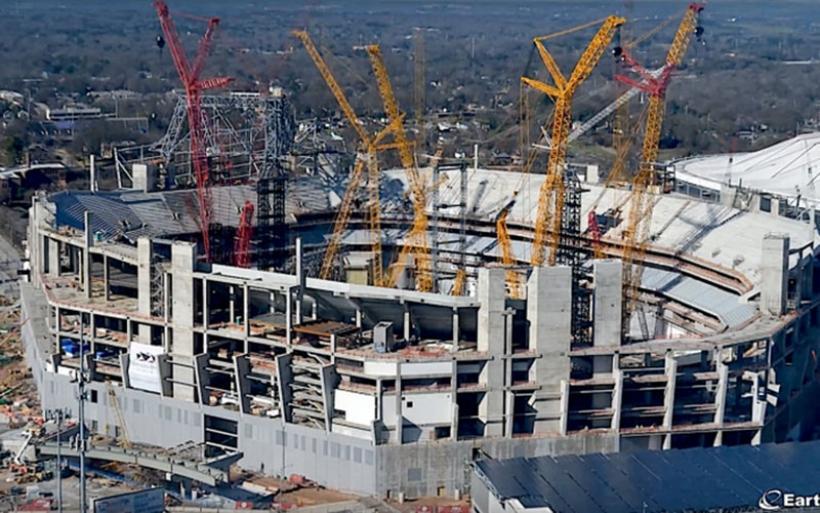 Το θαύμα της μηχανικής: Έτσι κατασκευάστηκε το Mercedes-Benz Stadium στην Ατλάντα