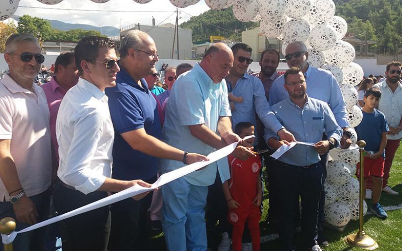 Εγκαινιάστηκε το νέο σύγχρονο γήπεδο ΕΑΚ Βόλου – Βοηθητικό