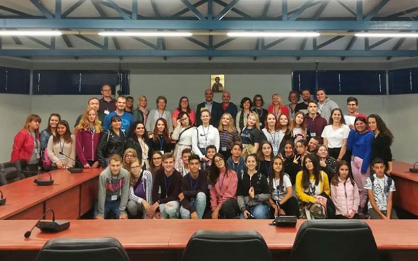 Στο Δήμο Αλμυρού για το πρόγραμμα  Erasmus το Γυμνάσιο Ευξεινούπολης